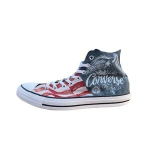 Exclusive Chuck Taylor American Flag high tops